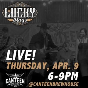 LUCKY MAYS BAND LIVE AT CANTEEN