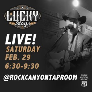 LUCKY MAYS BAND LIVE AT ROCK CANYON TAPROOM